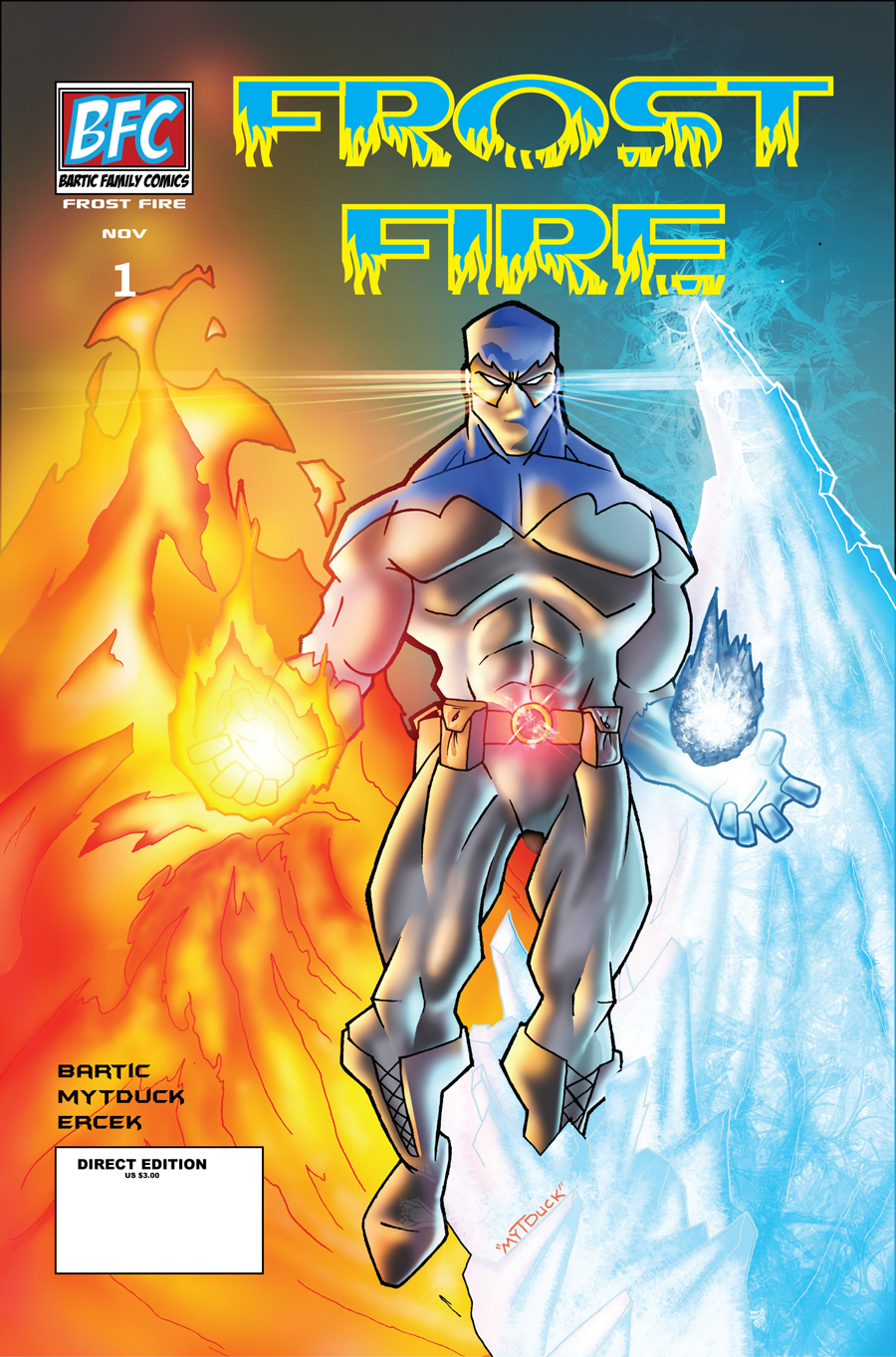 Frost Fire Issue 1 Cover