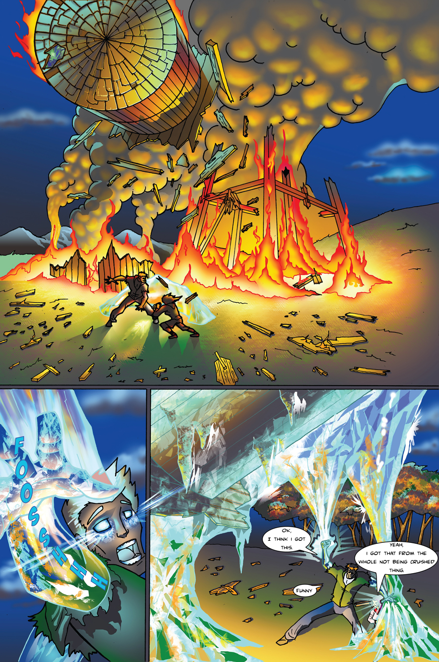 Frost Fire page 10
